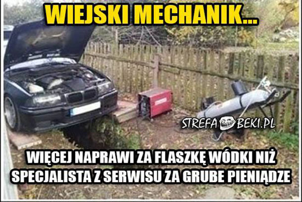 Wiejski mechanik